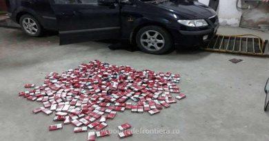 Peste 11.000 de ţigarete de contrabandă descoperite în PTFS Sculeni