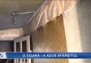Un bătrân din Bălăurești a decedat intoxicat cu fum după ce a adormit cu țigara aprinsă