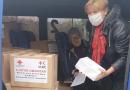 Crucea Roșie Ungheni a oferit colete cu ajutor umanitar persoanelor social-vulnerabile din Cornova