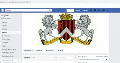 """Grupul """"Ungheni"""" – cea mai mare comunitate necomercială al Unghenenilor pe facebook"""
